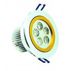 Ceiling Recessed light LED Energy Saving 5W 2-Tone - Warm White