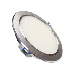 Recessed light - 12W LED Energy Saving Ceiling Recessed light Silver Crown - Warm White