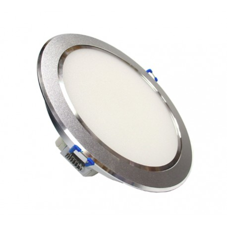 12W LED Energy Saving Ceiling Recessed light Silver Crown - Warm White