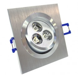 3W LED Energy Saving Grid Giling Spotlight - Warm White