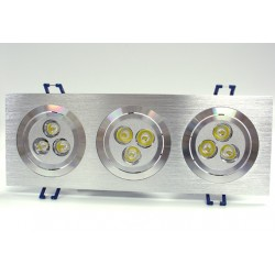 9W LED Energy Saving Grid Giling Spotlight - Warm White