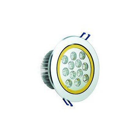 12W LED Energy Saving 2-Tone Ceiling Recessed light - Warm White