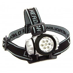 Headlamp 7 LED Super Bright  - Blister Pack
