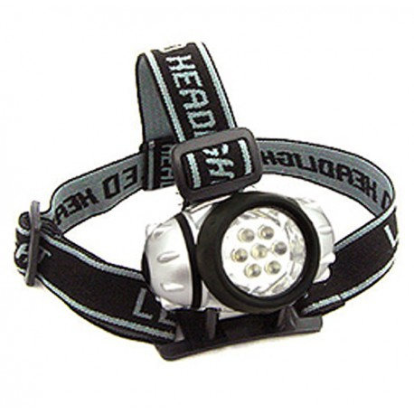 7 LED Super Bright Headlamp - Blister Pack