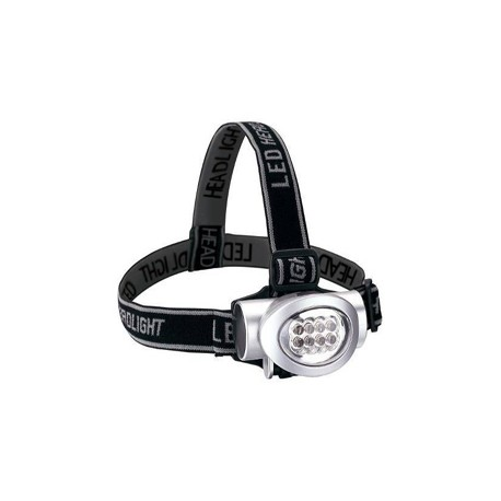 8 LED Headlamp with 3 Power Mode - Blister Pack