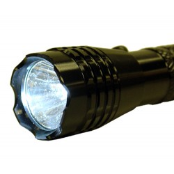 $3 Defender 3 Watts LED Flashlight - 100 Lumens