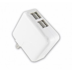 4 Ports USB AC Charger 2.1 Amp For Smart Phone & Tablet
