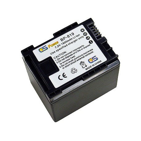 Canon BP819 Replacement Battery - Fully Decoded