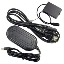 Panasonic DMW-AC8 Replacement AC Adapter with DMW-DCC6 coupler Kit