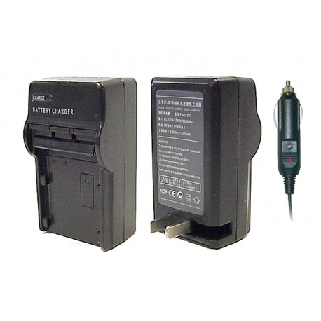 Minolta NP-200 Replacement  AC & DC Battery Charger