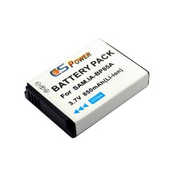 CS POWER BP-85A BP85A Li-ion Battery For Samsung Camera - 850 mAh