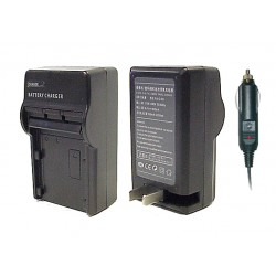 NB-10L NB10L Battery AC Wall & DC Car Charger For Canon Powershot SX40