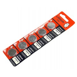 CR2016 Lithium Coin Battery For Watches & Car Keyless Remote 5 Pack