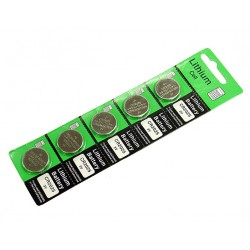 SUNCOM CR2025 Lithium Coin Battery For Watches & Electronic Devices 5 Pack